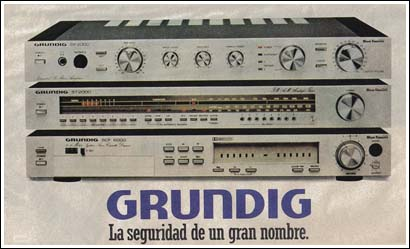 La alta fidelidad de Grundig