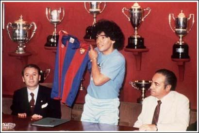 El paso de Maradona por el F.C. Barcelona en los ochenta II – final