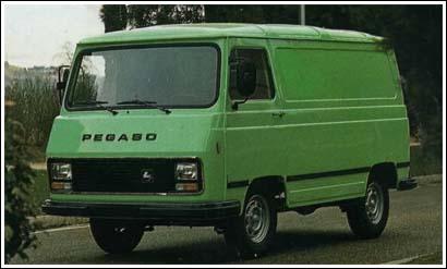 La furgoneta Pegaso en los ochenta