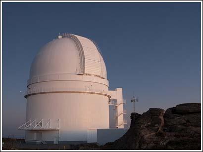 El telescopio más grande de Europa estaba en Almería (1984)