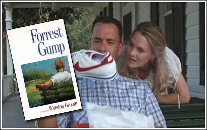 Forrest Gump, libro (1986)