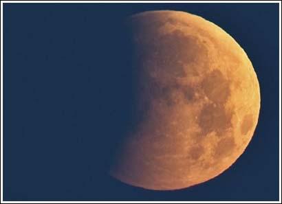 El primer eclipse total de luna de 1982