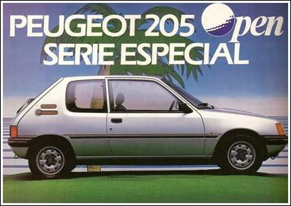 Peugeot 205 Open (1987)