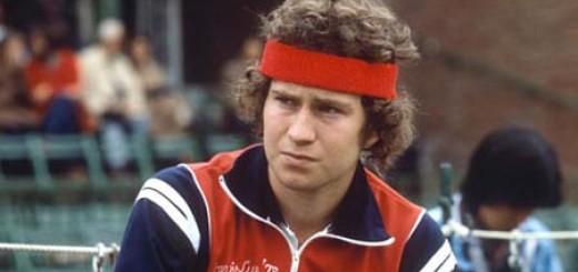 John McEnroe, mala leche en estado puro