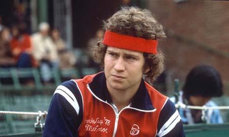 El mal humor de John McEnroe