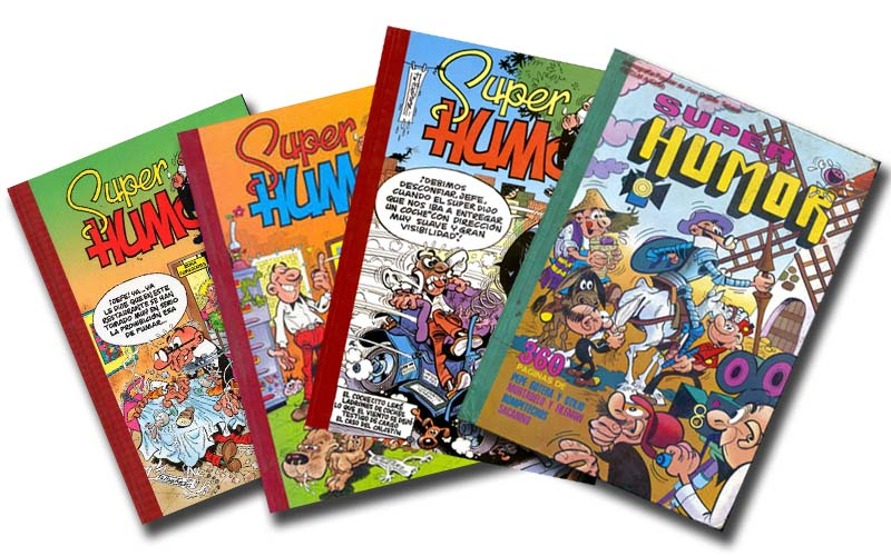 La colección Superhumor en los ochenta