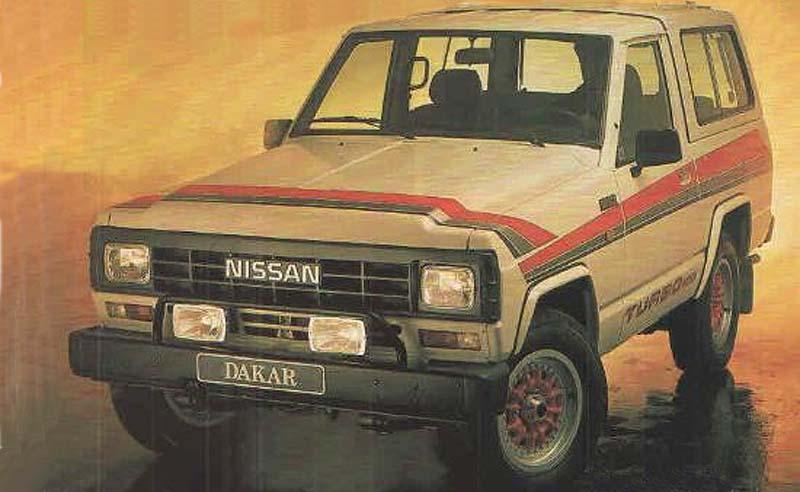 Nissan Patrol edición Dakar (1989)