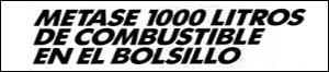 Métase 1000 litros de combustible en el bolsillo (1986)