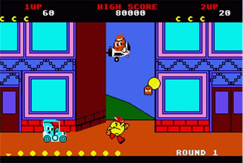 Pac-Land (1984)