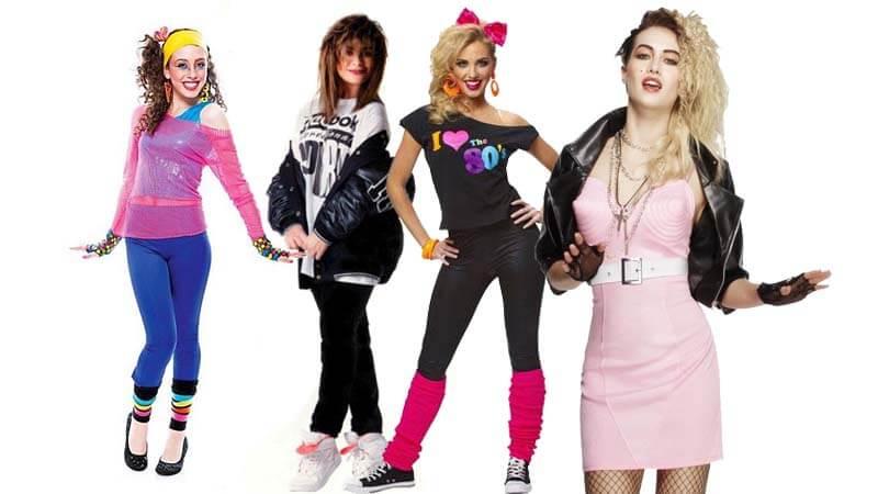 Chicas: consigue tu estilismo años ochenta