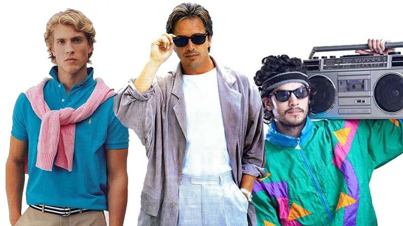 moda ochentera para chicos nostalgia 80