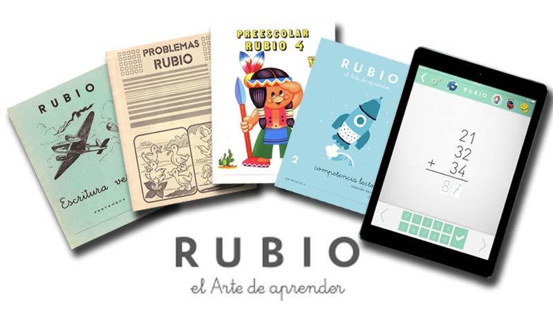 Evolución de los cuadernillos Rubio
