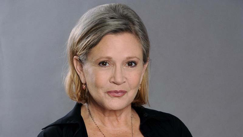 Fallece Carrie Fisher, la Princesa Leia
