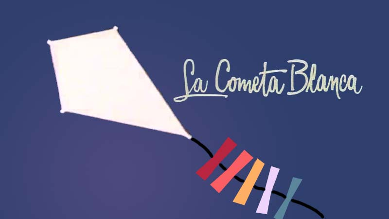La cometa blanca