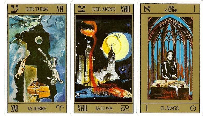 Dalí y su baraja de tarot