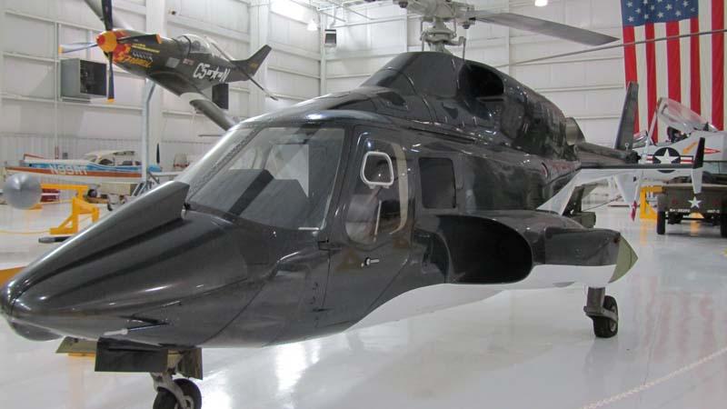 Helicóptero, a la estela de El Trueno Azul