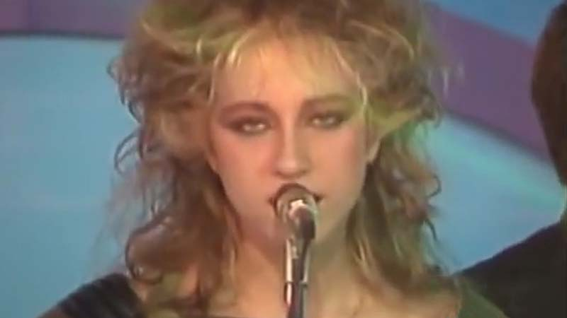 Flora Illueca, cantante de Betty Troupe