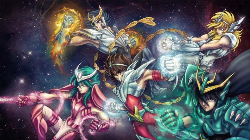 Vuelven Los Caballeros del Zodiaco