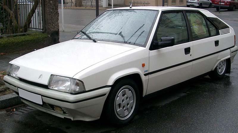 El Citroën BX cumple 35 años