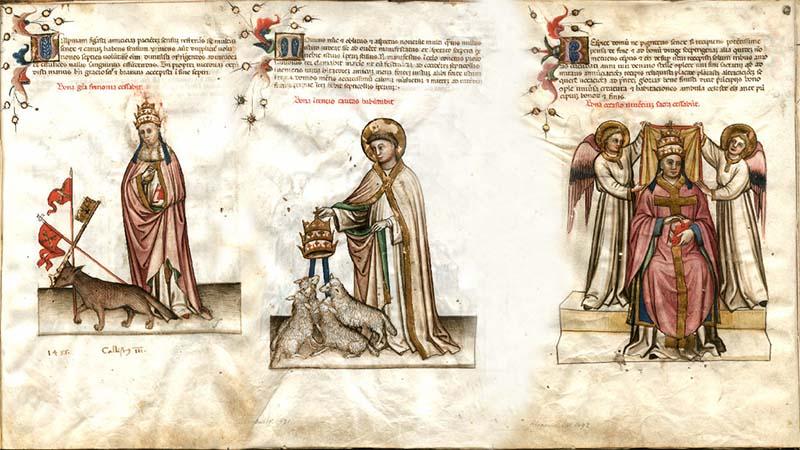 Ilustraciones de Nostradamus