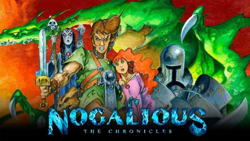 Nogalious, vuelven los videojuegos de los ochenta