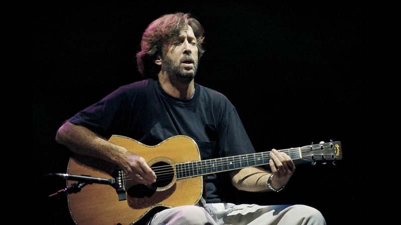 Eric Clapton en los ochenta
