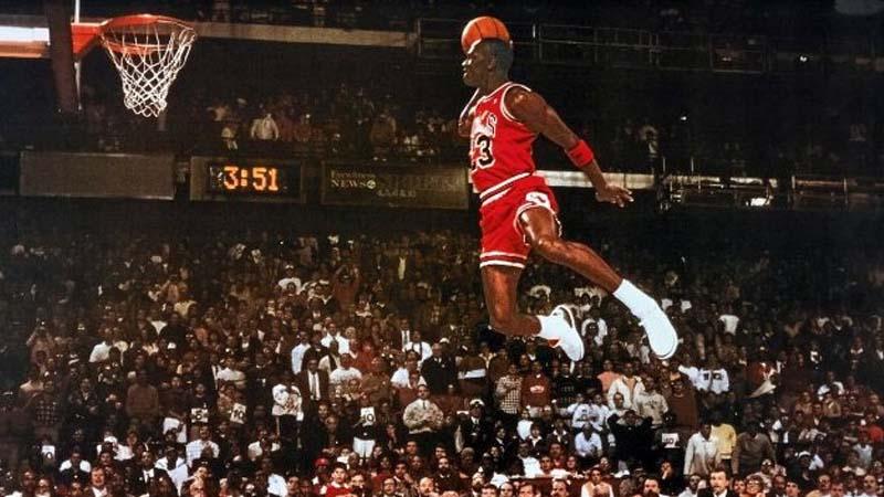 Jordan, uno de los grandes de la NBA