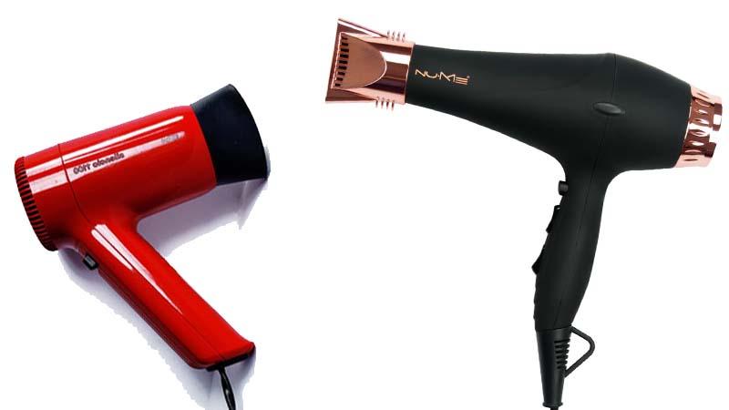 Los secadores de pelo de ayer y de hoy