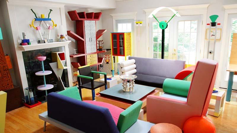 Inspírate en los ochenta para decorar tu casa