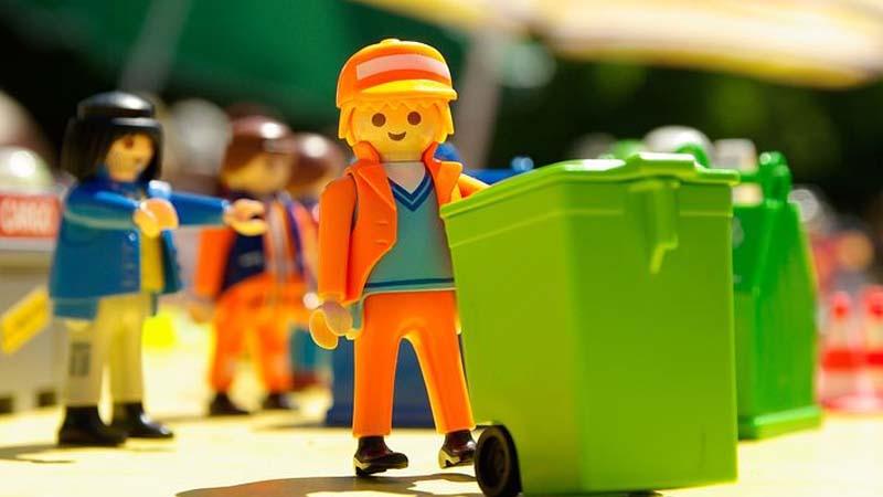 Recuerdos de los juguetes de los ochenta