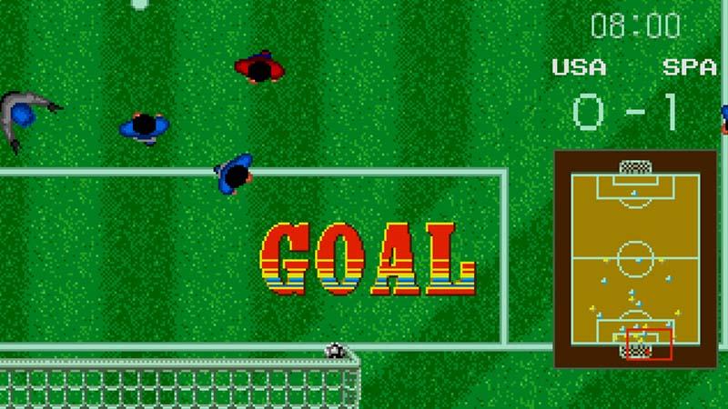 4 videojuegos de fútbol de los ochenta
