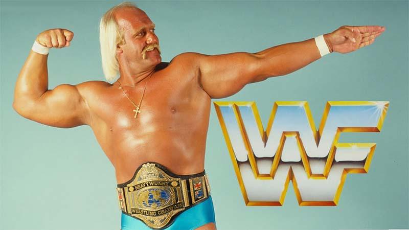 Los luchadores de la WWF en los ochenta
