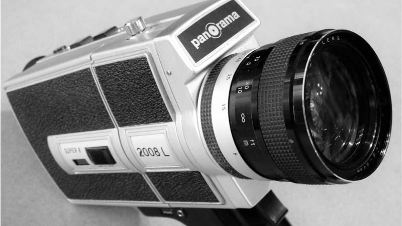 Las videocámaras: como eran antes y como son ahora
