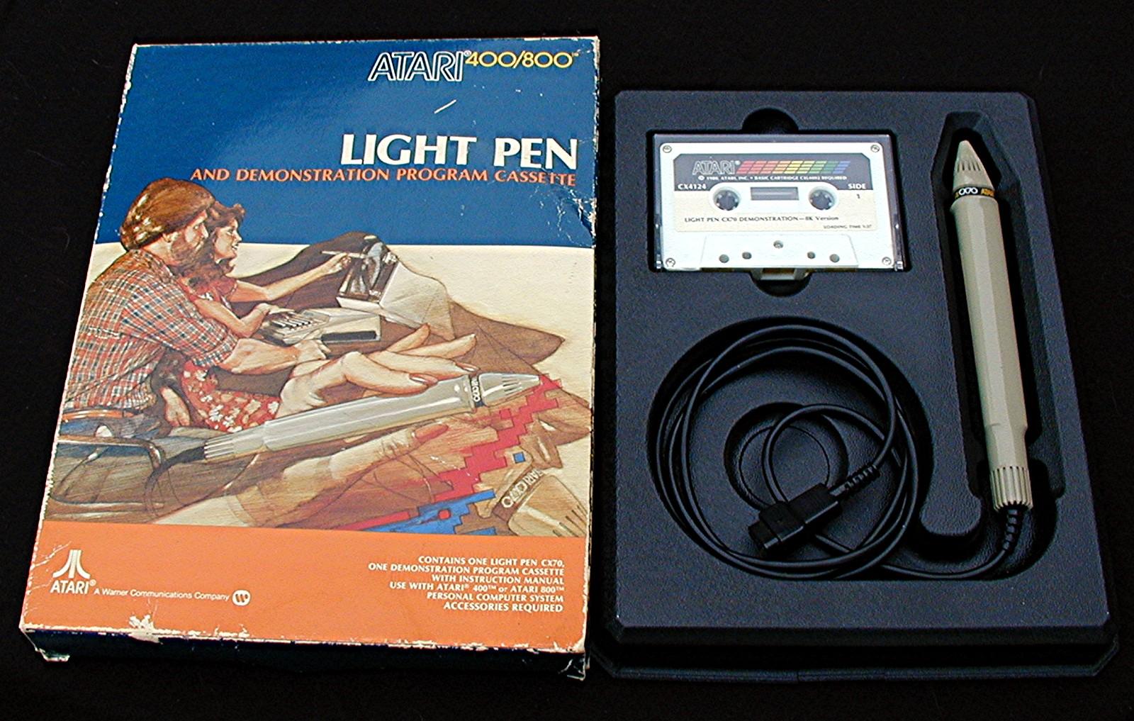 Atari ligth pen