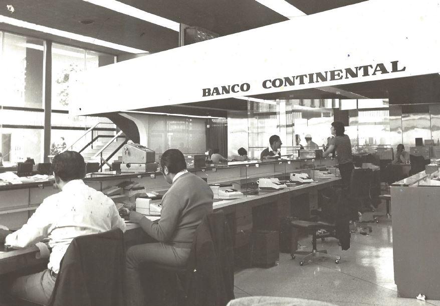 Los bancos en los años 80's