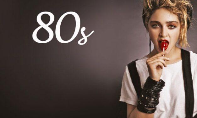 Recordando la moda de los 80's