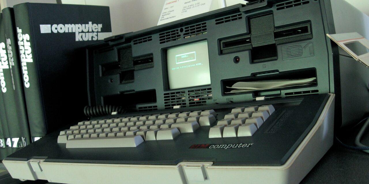 Osborne 1, el primer ordenador portátil