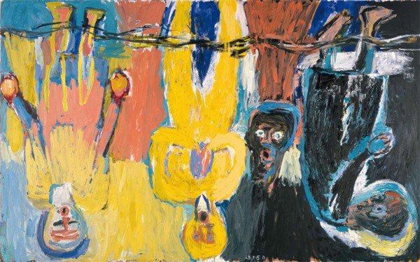 El arte de Georg Baselitz en los 80's