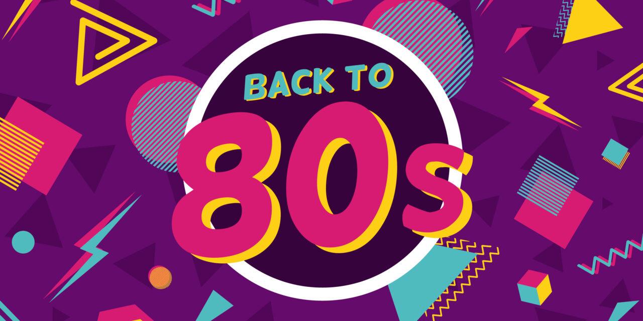 Decoración en las fiestas de los 80's